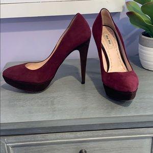 Miu miu Maroon and brown 6.5 heels